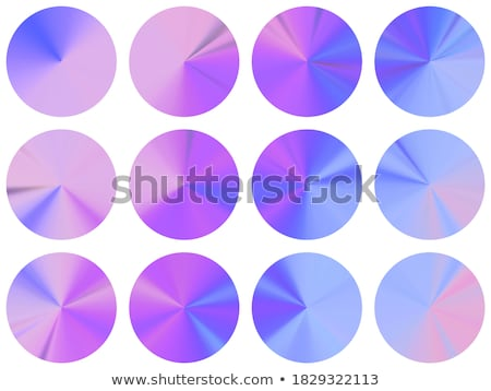 Medaille vector Blauw web icon knop Stockfoto © rizwanali3d