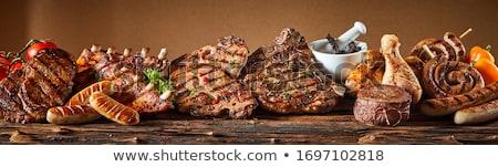 mixed grill steak stock photo © phila54