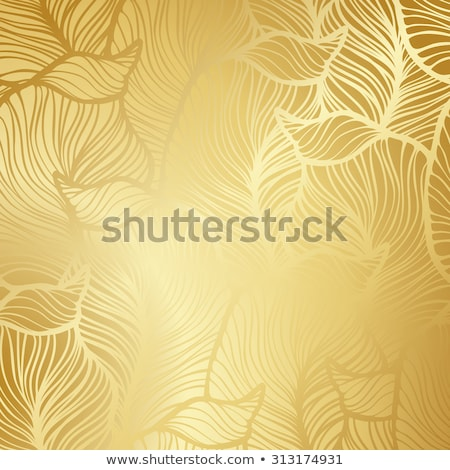 Luxury golden background with damask floral pattern Stock photo © liliwhite