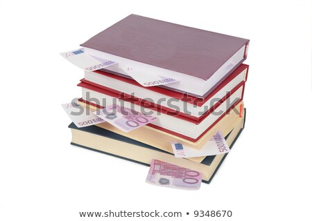 Cup of books with euro 2 Stock photo © Paha_L