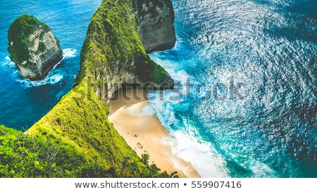 dream beach Bali Indonesia, Nusa Penida island Stock photo © artush