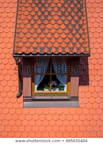 imagem · cidade · Alemanha · bem · medieval · cidade · velha - foto stock © meinzahn