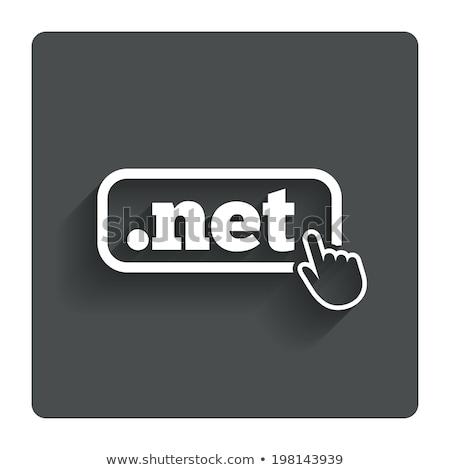 web · hosting · etiket · imzalamak · örnek · grafik · tasarım - stok fotoğraf © kiddaikiddee
