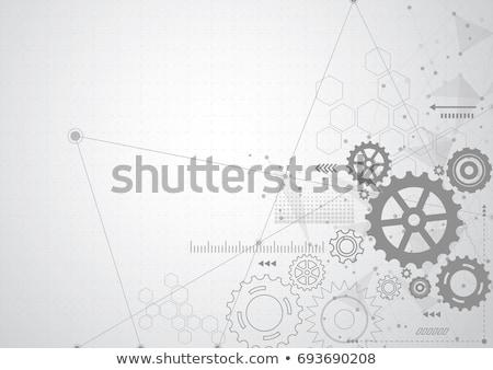 working cog wheels Stock photo © get4net