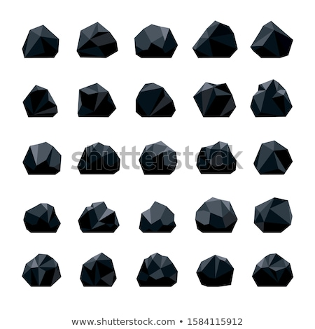 Stock photo: Heap of coal