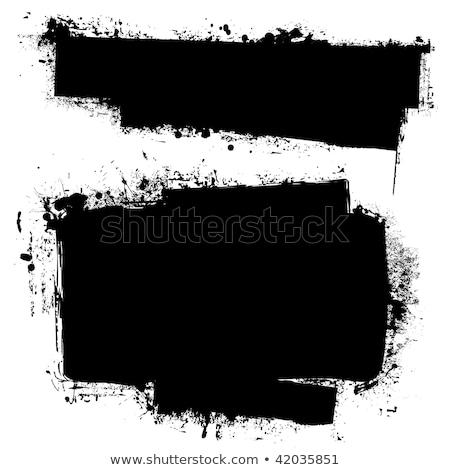 zwarte · exemplaar · ruimte · abstract · inkt · ontwerp · kamer - stockfoto © nicemonkey