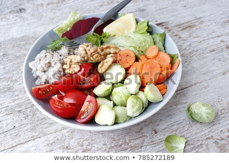 buddha bowl,vegetarian meal Stock photo © M-studio
