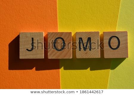 Függőség izolált magasnyomás szó írott klasszikus Stock fotó © enterlinedesign