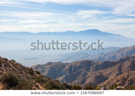 horizontaal · zonsopgang · vallei · USA · zon - stockfoto © yhelfman