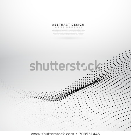 background make of particle array mesh Stock photo © SArts