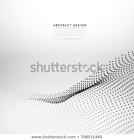 Parçacık soyut arka plan Stok fotoğraf © SArts