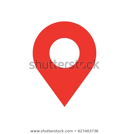 map marker flat icon stock photo © ahasoft