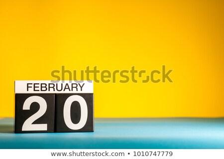 20th February Stock photo © Oakozhan