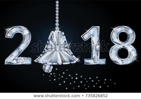 Yeni yıl elmas noel çan iş Stok fotoğraf © carodi