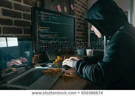 hacking · e-mail · spam · hacker · activiteit · computer - stockfoto © romvo