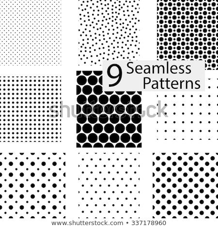 Kolekcja proste bezszwowy kropkowany wzorców puszka Zdjęcia stock © ExpressVectors