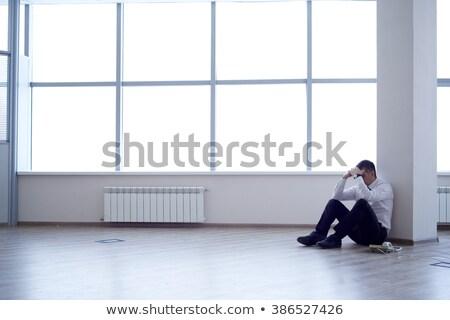 бизнесмен · голову · отчаяние · служба · человека - Сток-фото © is2