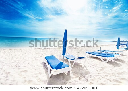 Dos playa gafas whisky hermosa mar Foto stock © tracer