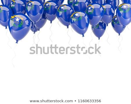 Ballonnen frame vlag Nevada Verenigde Staten lokaal Stockfoto © MikhailMishchenko