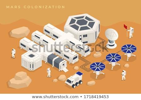 Cartoon Mars Idea Stock photo © cthoman