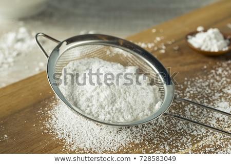 сахарная пудра металл Sweet ингредиент Сток-фото © Digifoodstock