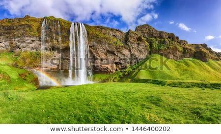 çağlayan · ada · doğa · manzara · yeşil - stok fotoğraf © kotenko