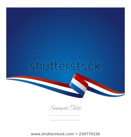 red white blue ribbon stock photo © jsnover