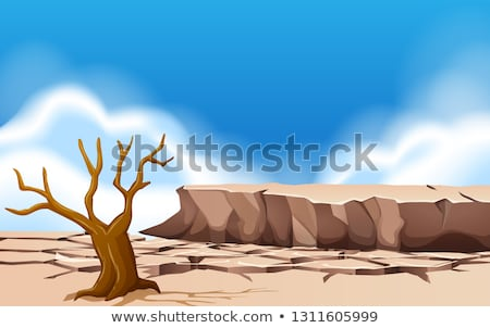 a droughty land day time stock photo © bluering