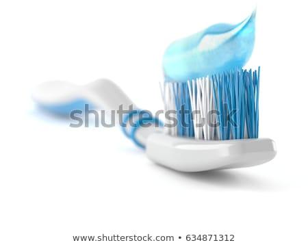 Izolált fogkrém fehér illusztráció háttér szépség Stock fotó © bluering