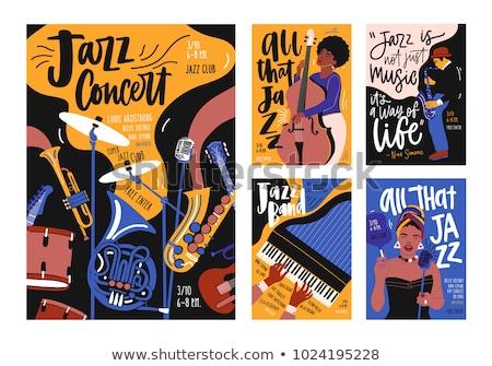 musique · classique · événement · affiche · musique · art · signe - photo stock © giraffarte