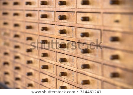 Traditional Omikujis in a temple, Tokyo, Japan Stock photo © daboost