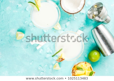 frozen cocktail with coconut stock photo © barbaraneveu
