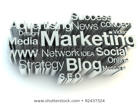 colored mass media pattern stock photo © netkov1