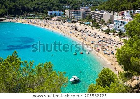 Ibiza Cala Sant Vicent also San Vicente Stock photo © lunamarina