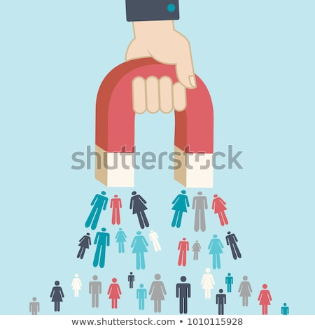 Attract New Customers Concept Stock photo © olivier_le_moal