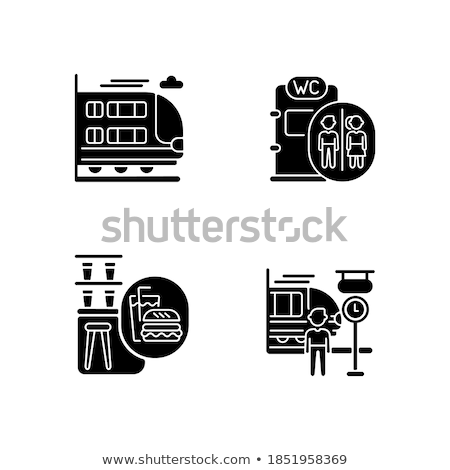 Gyűjtemény tömegközlekedés vektor mobil app oldal Stock fotó © pikepicture