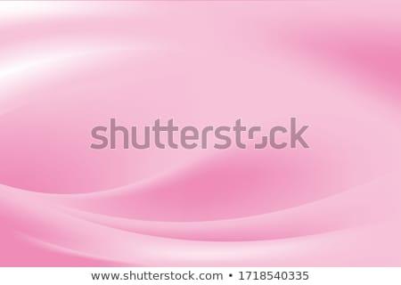 Soft rose ondulés forme affaires Photo stock © SArts
