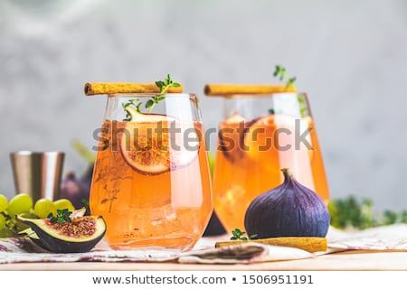 figs and juice Stock photo © tycoon