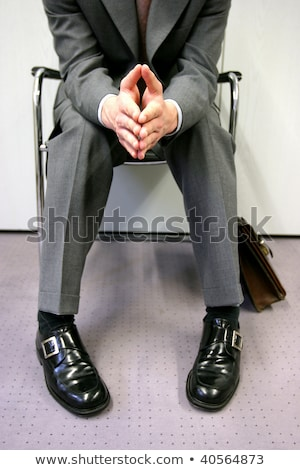Bored Applicants Waiting For Job Interview Stock photo © AndreyPopov