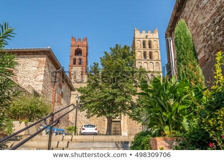 Elne Cathedral, France Stock photo © borisb17