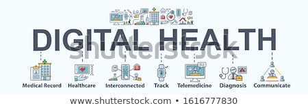 Gadget And Device Minimal Infographic Banner Vector Stock photo © pikepicture