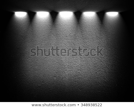 gallery black wall with focus spotlights background Stock photo © SArts
