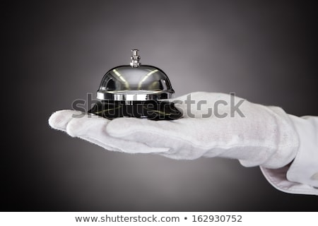 Offering Service Concierge Bell To Customer Stock photo © AndreyPopov