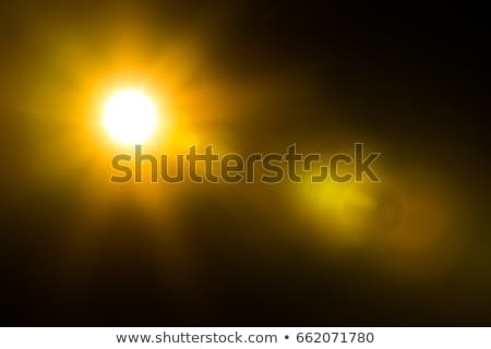 Wide deep space background with bright stars and lens flare Stock photo © evgeny89
