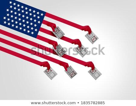 Americano comunidade votar votação diversidade diverso Foto stock © Lightsource
