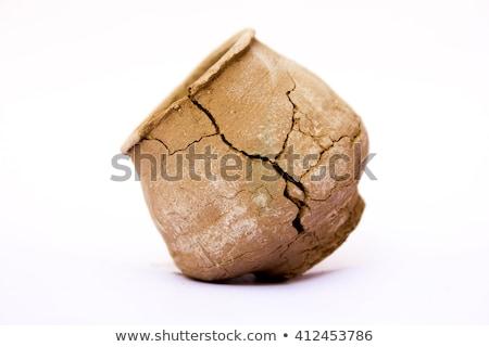 Old Broken Amphora Stock photo © PetrMalyshev