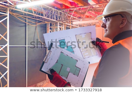 Man inspecting a premises Stock photo © photography33