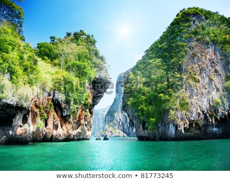 sea in Krabi Thsiland Stock photo © Pakhnyushchyy
