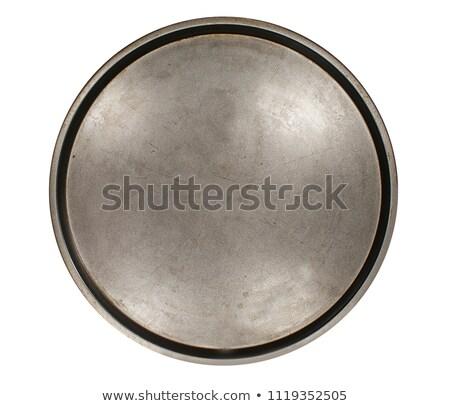Pizza in tray Stock photo © stevemc
