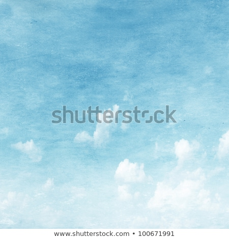 Velho manchado céu sujo nuvens textura Foto stock © Julietphotography